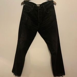 Citizens of humanity Liya jeans in dark tempest!